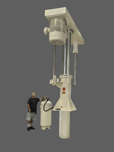 Large Scale High-Speed Disperser