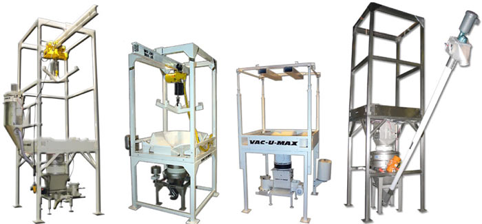 Custom Bulk Bag Unloaders