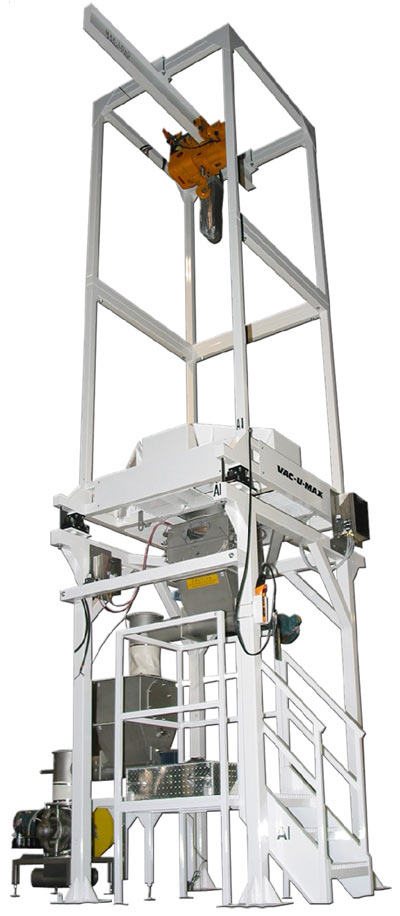 Hoist Bulk Bag Discharger