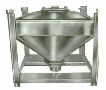 Stainless Steel Hopper and Bin