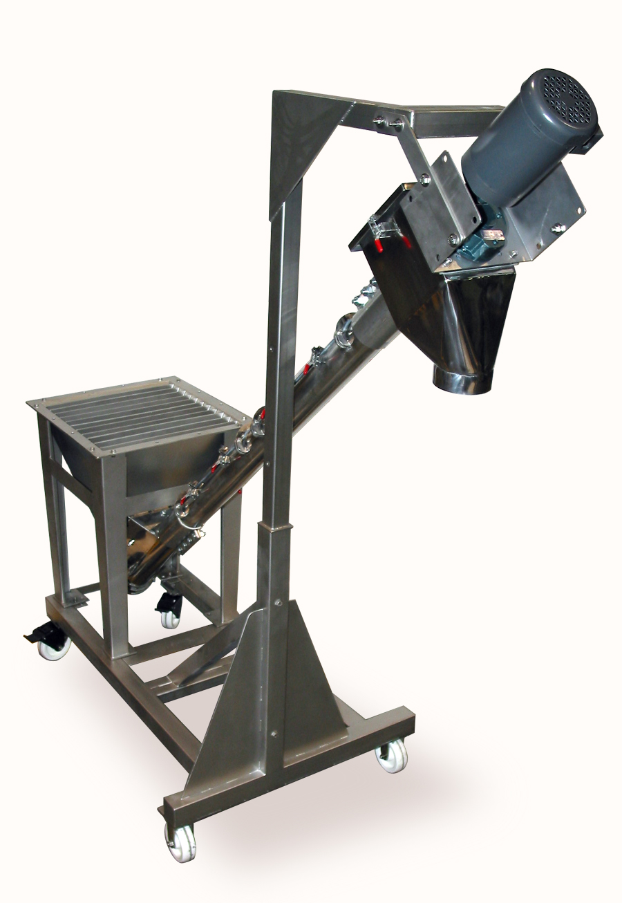Mobile Screw Conveyor System