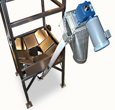 Bulk Bag Unloader Flexible Screw Conveyor