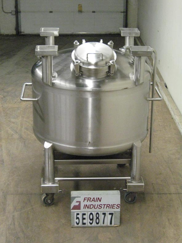 Single Wall Stainless Steel Tank