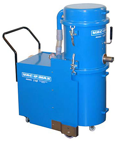 Continuous-Duty Industrial Vacuum Cleaner