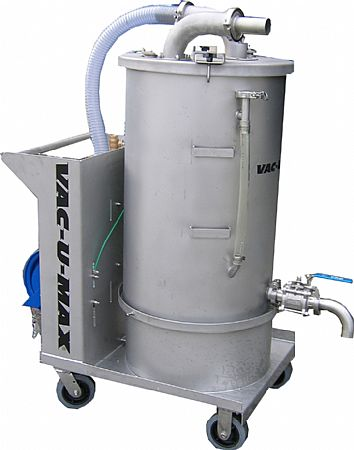 Submerged Recovery Vacuum Cleaning System