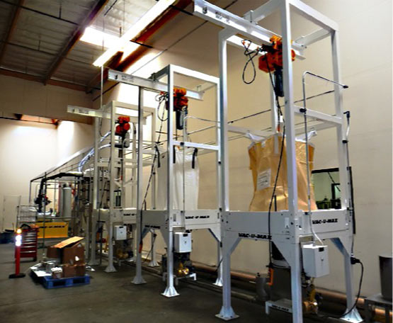 Rear-Post Bulk Bag Filler