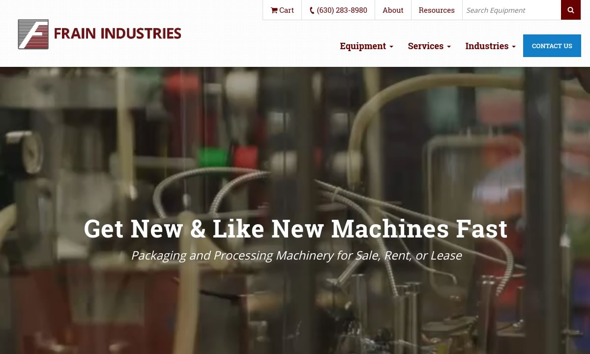 Frain Industries, Inc  | Bulk Material Handling Equipment