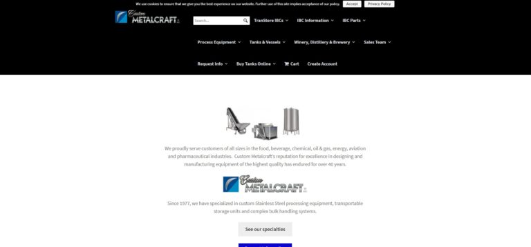 Custom Metalcraft, Inc.