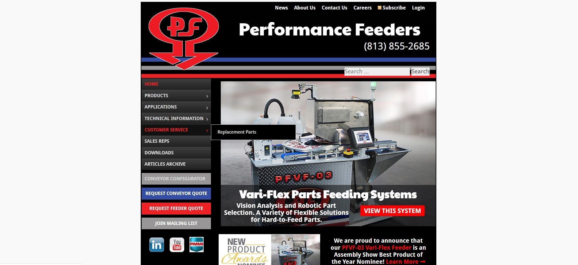 Performance Feeders, Inc.
