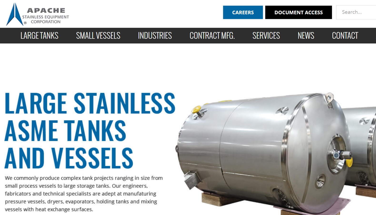 Apache Stainless Equipment Corp.