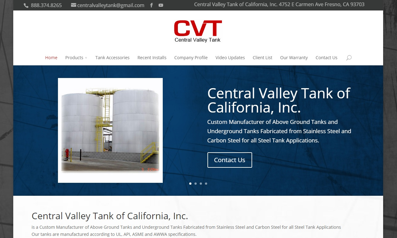 Central Valley Tank Inc.